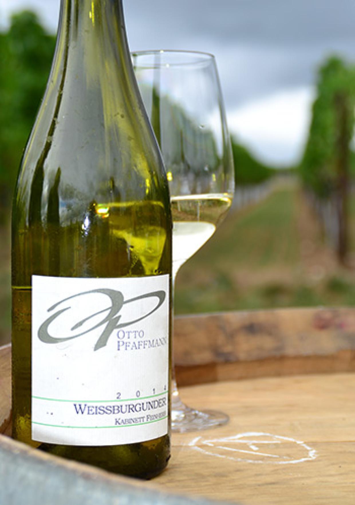 Pfälzer Weisswein vom Weingut Otto Pfaffmann in der Pfalz