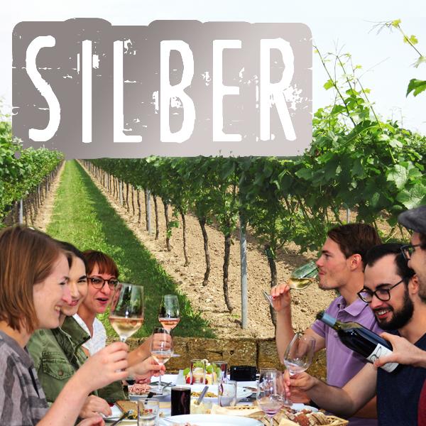 Weinprobe Silber gross Pfalz